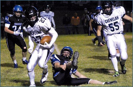 FOOTBALL: Chewelah's Nolan Hansen named Max Prep player of the week
