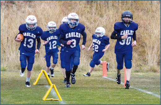 Valley Eagles go undefeated