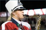 A Cougar in the Cougar Marching Band