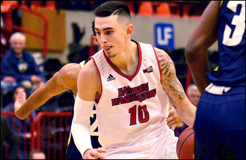SPORTS LEAD: Davison's hot hand torches Lumberjacks for EWU