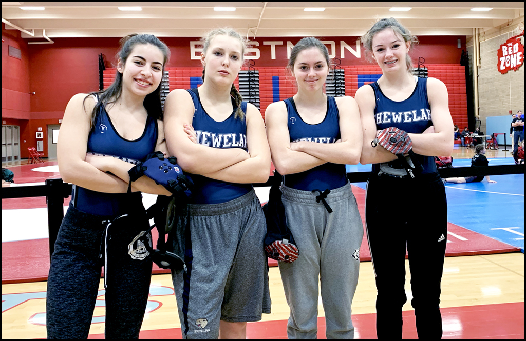 GIRLS WRESTLING: Fearsome four post impressive season for Cougs