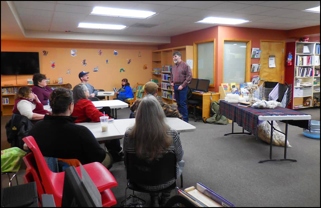 Calendar of events for the Libraries of Stevens County