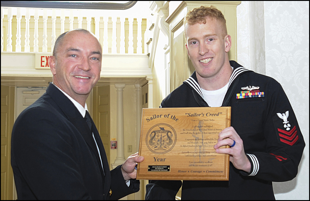 Loon Lake native named USS Columbus Sailor of the Year