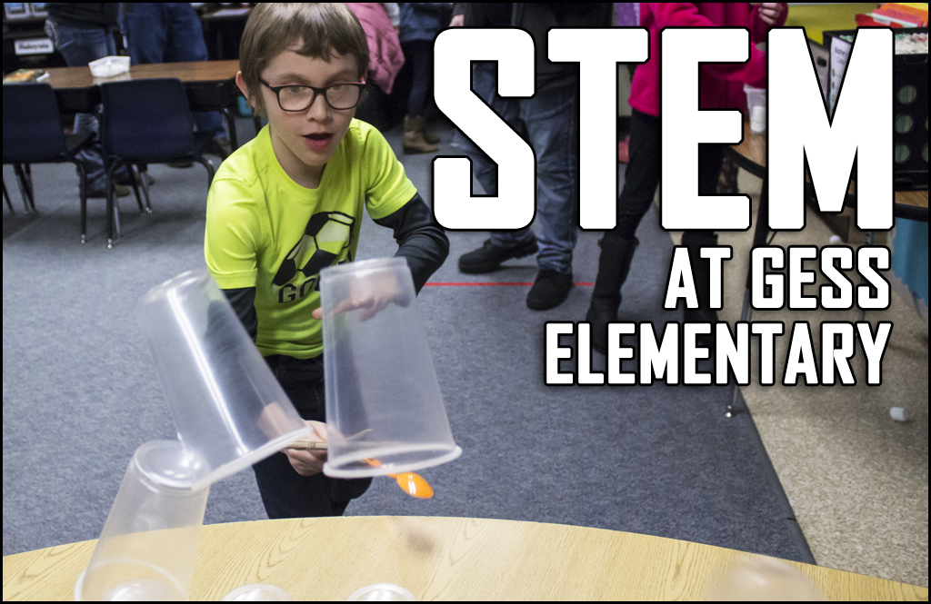 Igniting INTEREST: Gess Elementary students get technical for STEM night