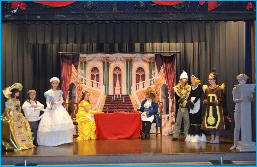 "Disney's ""Beauty and the Beast Jr."" playing at the Valley School"