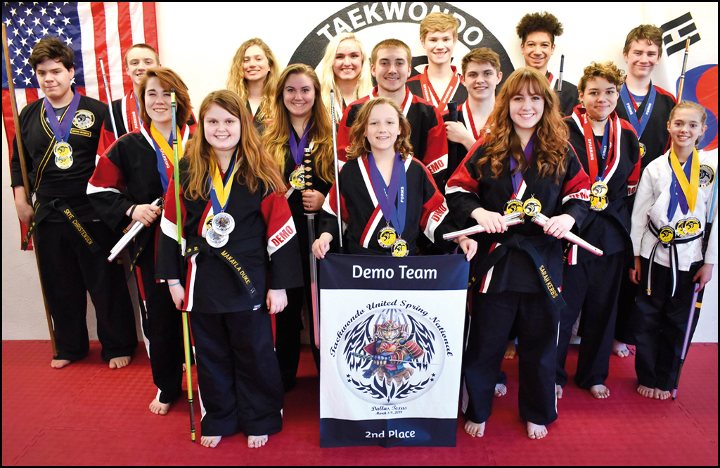 NATIONAL TREASURE: Bradley's TKD shines at nationals