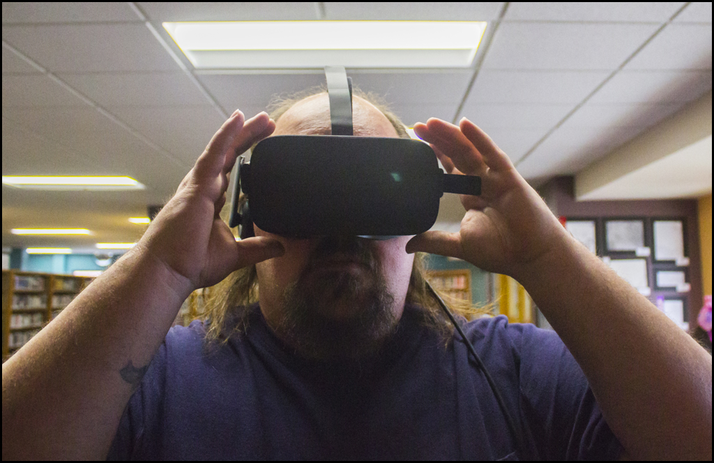 Chewelah Library's VR program takes people into different realms