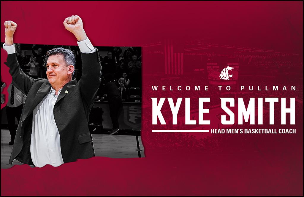 WASHINGTON STATE SUNDAYS: Kyle Smith takes over WSU men's basketball