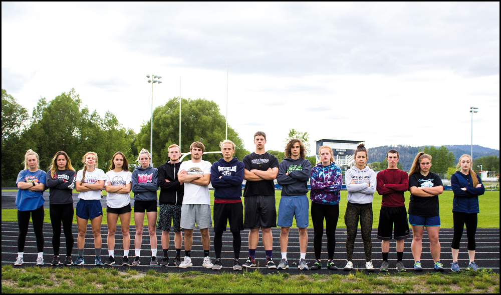 CHEWELAH TRACK AND FIELD: Cougs bring an army