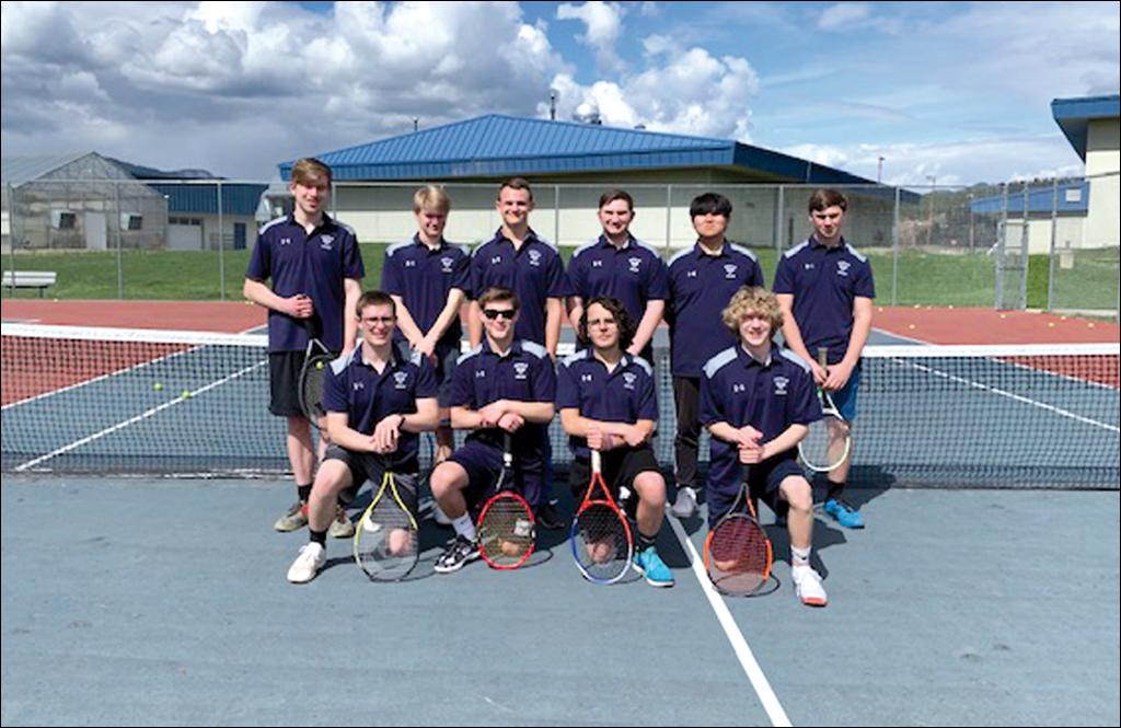TENNIS: Chewelah boys win league title