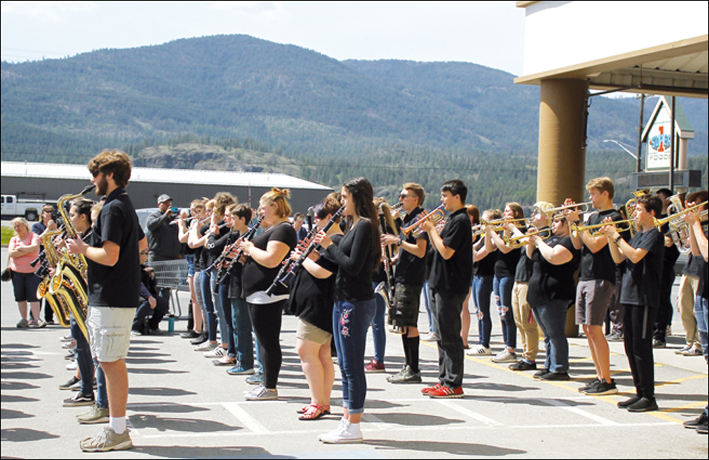 The band marches on in Colville