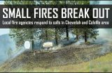 Small fires dot Stevens County as fire danger upgraded to high