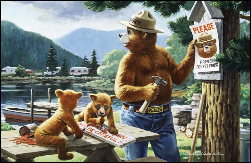 Smokey the Bear coming to Chewelah Farmers Market