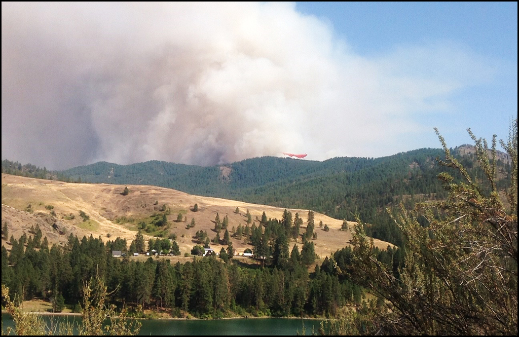 Cooler weather hits as Williams Flats Fire grows to 40,000 acres