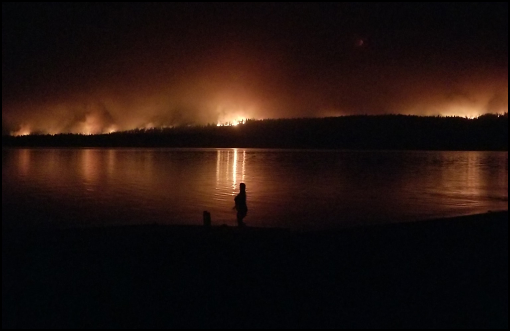 Williams Flats Fire now 100 percent contained