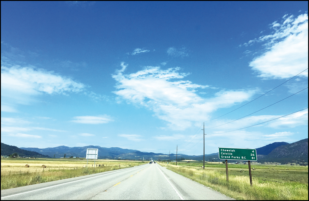 HIGHWAY 395: Artery of the county
