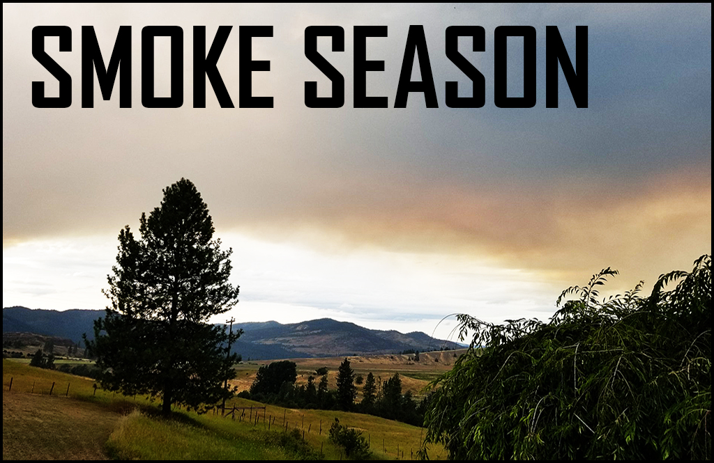 Smoke from Colville Indian Reservation fire hits Stevens County