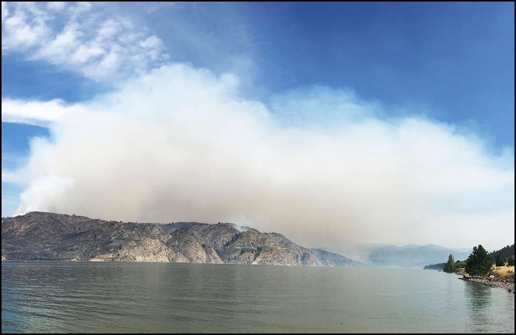 Williams Flats Fire has 20 percent perimeter contained