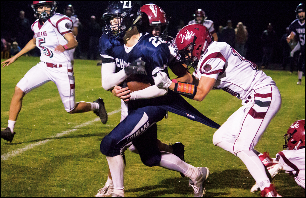 COLVILLE/CHEWELAH FOOTBALL: 872 yards of offense in Stevens County