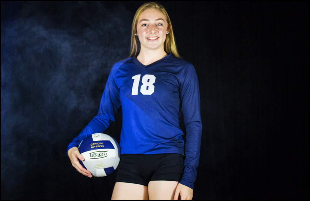 2B VOLLEYBALL: Kirry, George helps Cougars sweep St. George's