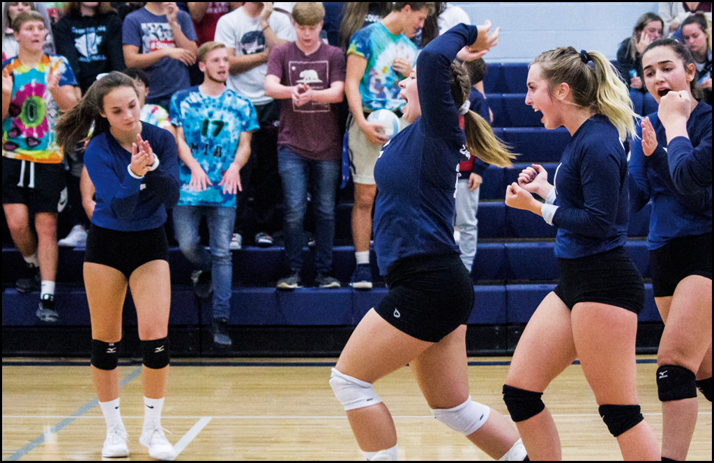 VOLLEYBALL: Cougars get their groove back