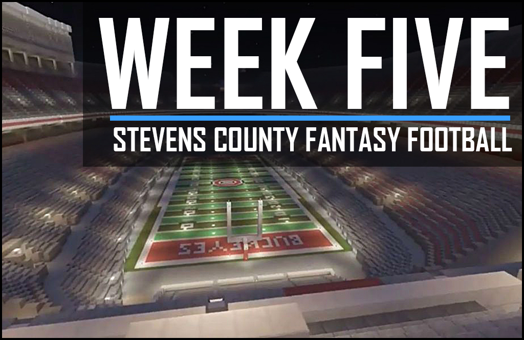 STEVENS COUNTY FANTASY FOOTBALL WEEK 5: August Wagner goes hunting for yards and touchdowns