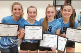 VOLLEYBALL: Four Cougars make All-League and All-State