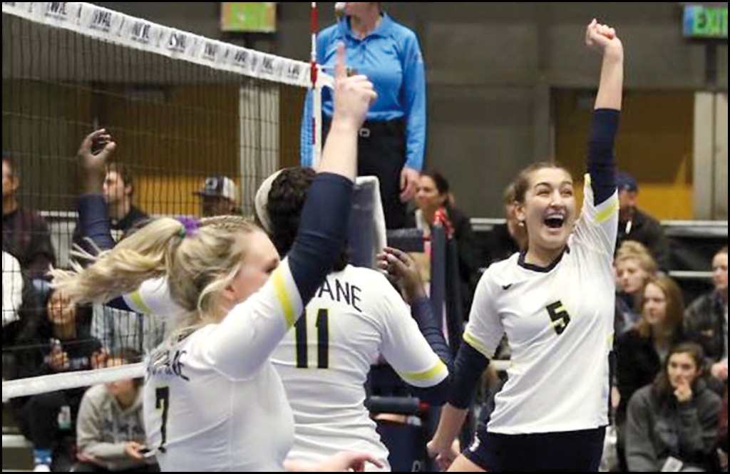 VOLLEYBALL: Rainer helps lead Spokane Falls to NWAC title