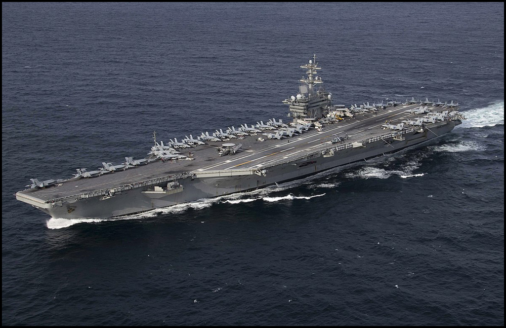 Chewelah's Katzer serves on USS Abraham Lincoln during historic deployment