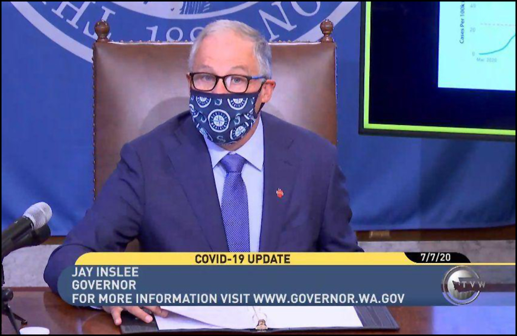 Inslee extends pause on 'Safe Start Washington' applications