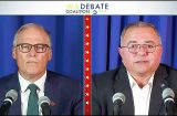 Inslee/Culp debate highlights vastly different approach to pandemic, systemic racism, climate change