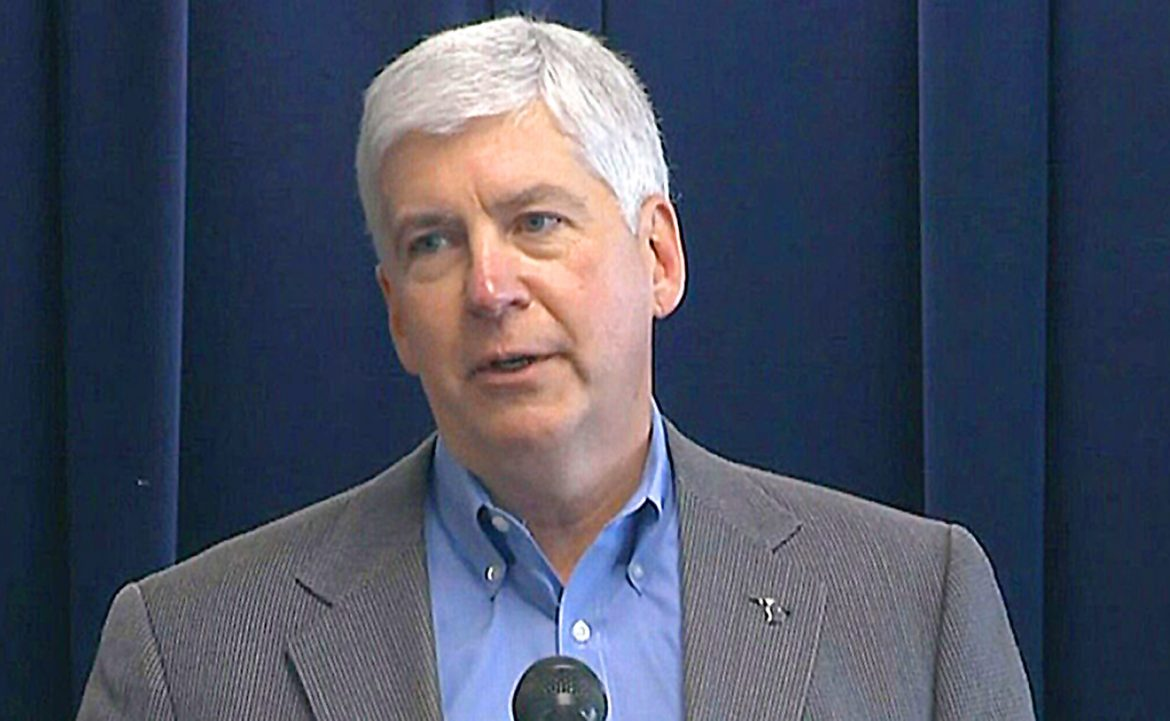 NATIONAL NEWS: Ex-Michigan Governor Rick Snyder charged for role in Flint water crisis
