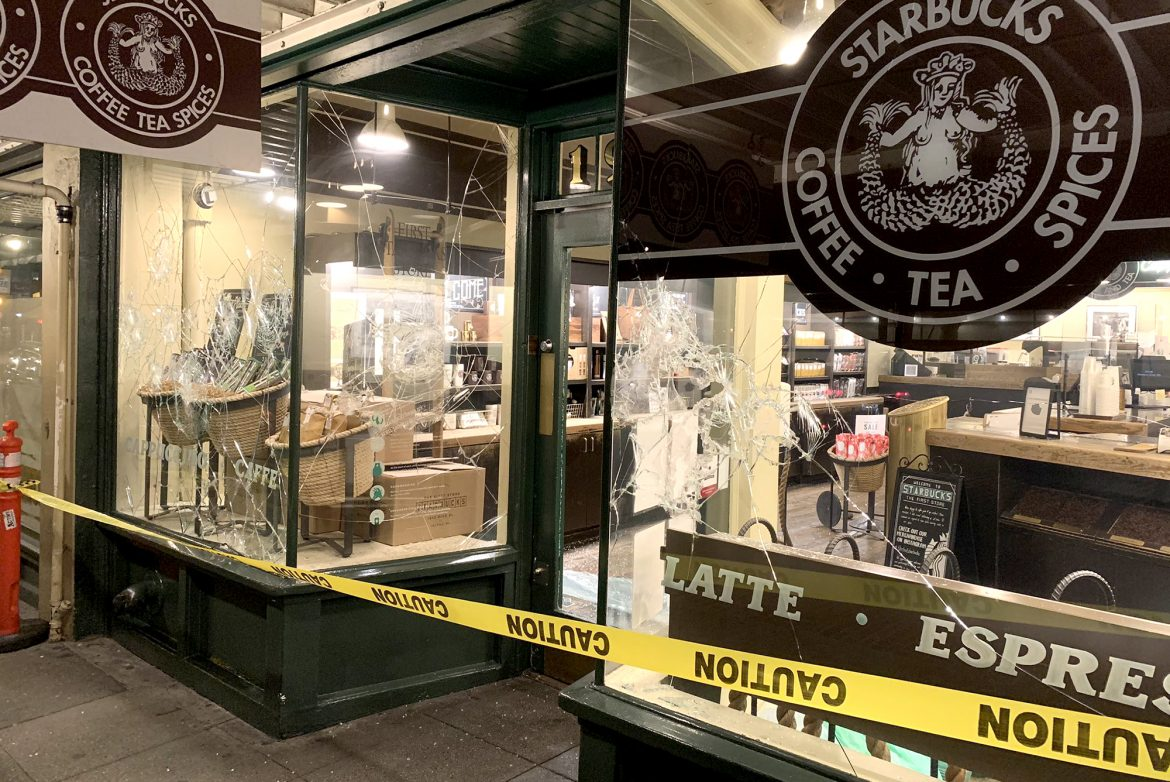 NATIONAL NEWS: Riots cause damage in Seattle, Portland