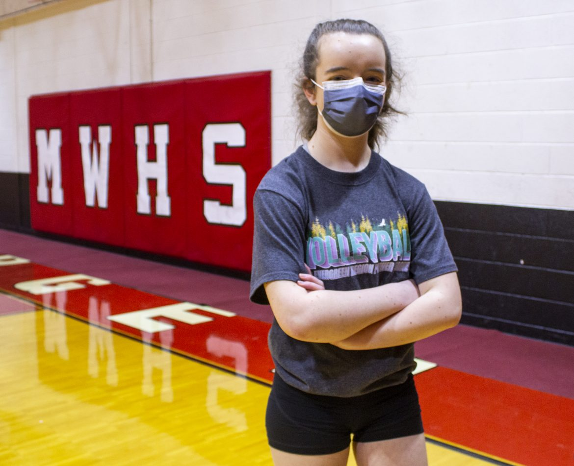 VIDEO: Springdale setter Macey Gines talks about start to volleyball season