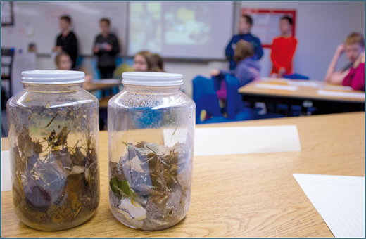 WASTE NOT: Chewelah Alternative students work on the problem of food waste