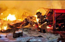 House burns on Old Springdale Road