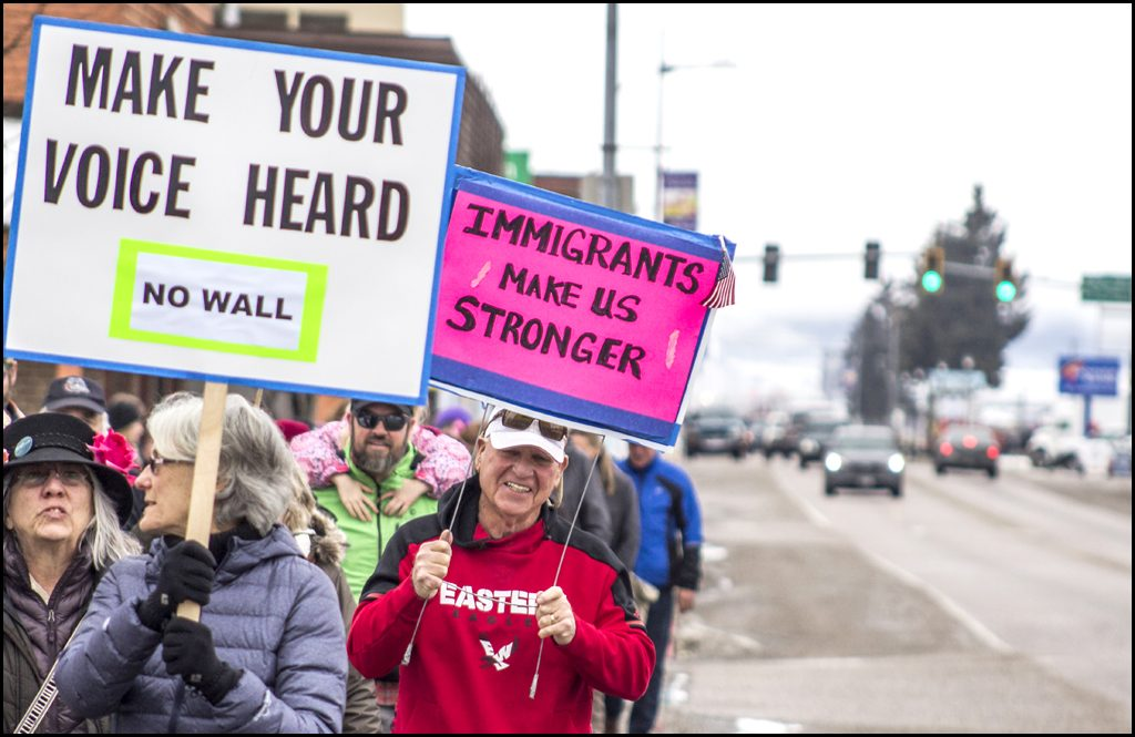 For third straight year, locally-organized Womens March walks through Chewelah