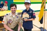 CHEWELAH CUB SCOUTS: Off to the races