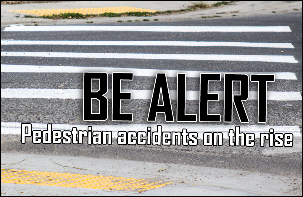 Pedestrian injuries and deaths rise in recent years