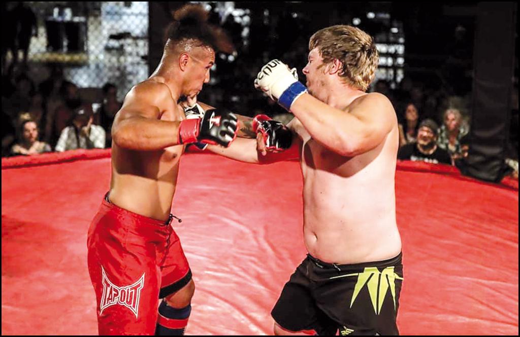 Chewelah's Josh Dehnel defends amateur MMA title