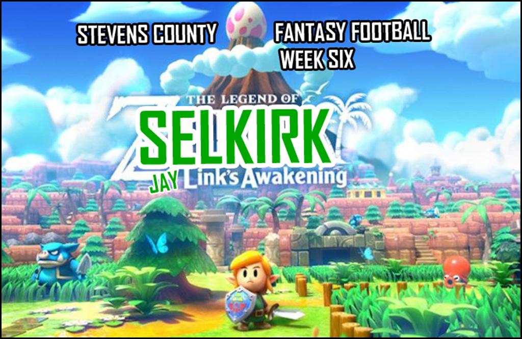 STEVENS COUNTY FANTASY FOOTBALL WEEK SIX: Breaking the fantasy football system