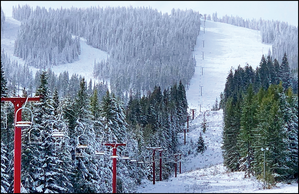 Heavy mountain snow on the way, could blanket 49 Degrees North