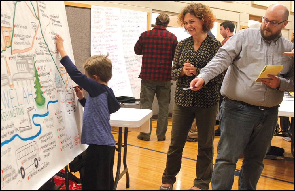 Centering on Chewelah: Residents give feedback for WA Chamber of Commerce program
