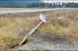 Road signs vandalized in north Stevens County