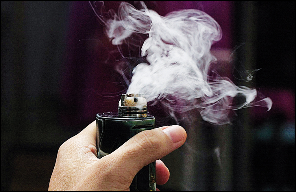 JJSHS dealing with vaping use along with nation