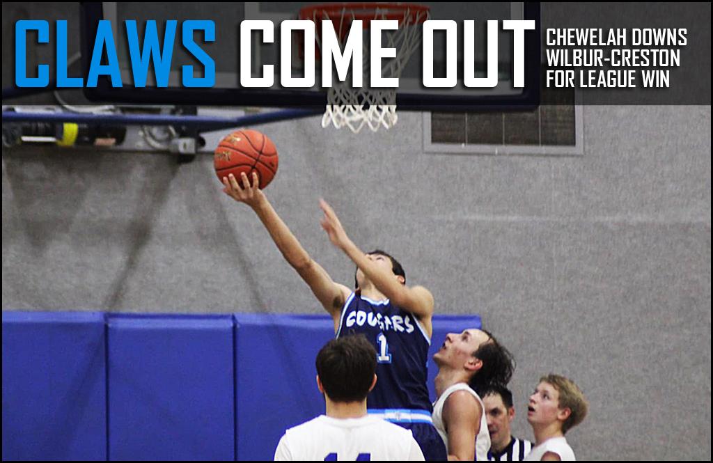 BOYS BASKETBALL: Cougars down Wilbur-Creston