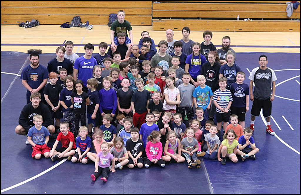 A VILLAGE OF WRESTLERS: Chewelah's youth turns out to wrestle