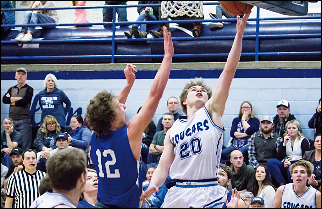CHEWELAH BOYS BASKETBALL: Cougars pick up important win to wrap up regular  season league play and then  win district opener