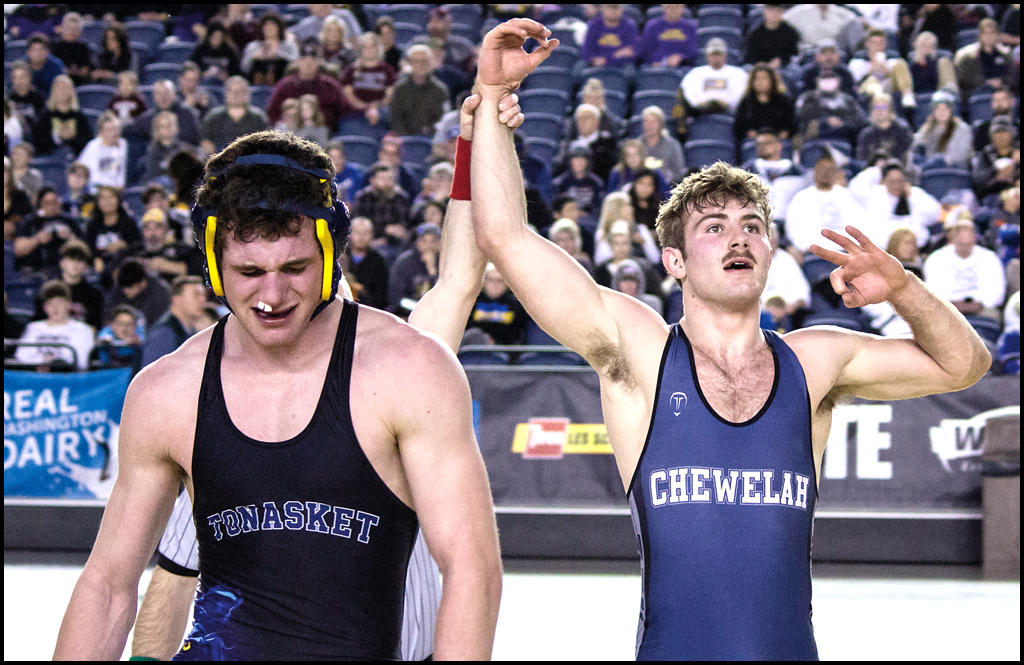 MAT CLASSIC: Krouse wins third state title in wrestling