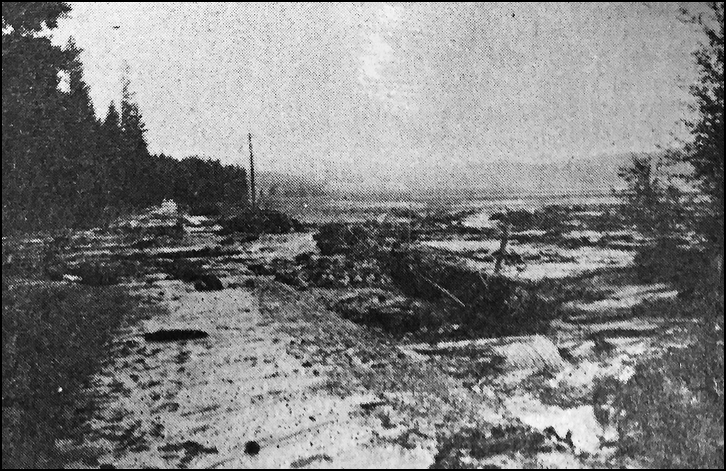 THROWBACK THURSDAYS: Horseshoe Lake washes out on May 18, 1974